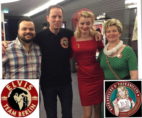 "Mit Anna Schweizer und Markus Sell von ""Rockabellas & Rockabillys and everything from 30s to 50s"""