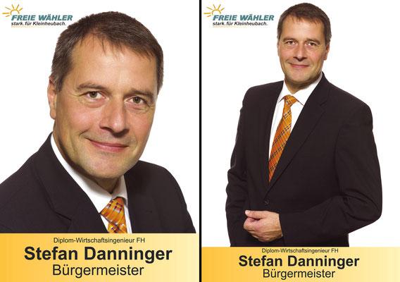Stefan Danninger - Wahlplakat