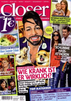"""Titel """"Closer"""": Harald Glööckler - Dog Couture"""