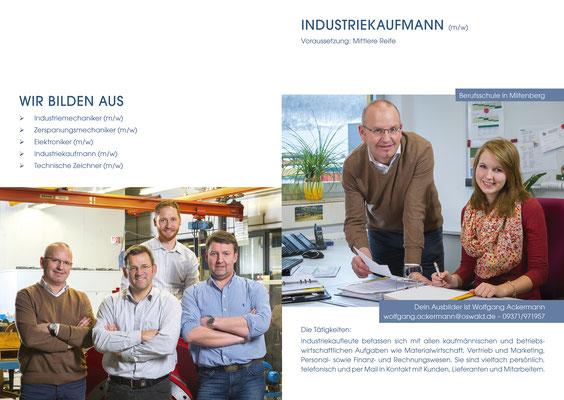 Oswald Elektromotoren GmbH - Auszubildende