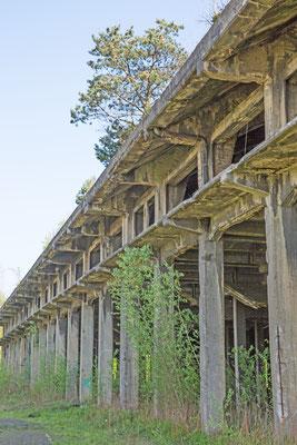 Pechhalle - Längsfassade