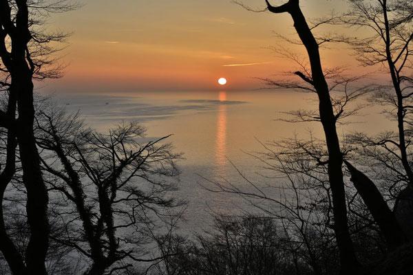 Sonnenaufgang am Königsstuhl