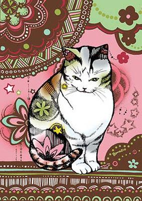花猫/座り猫