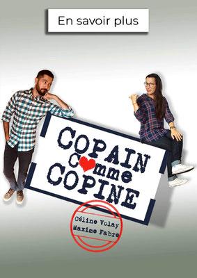 Spectacle Copain comme Copine