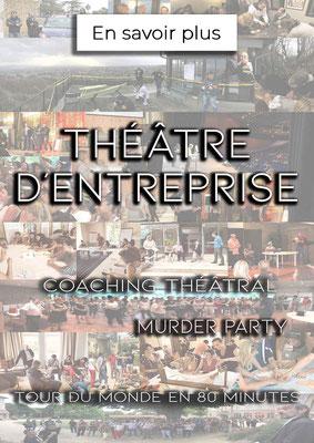 Théâtre en entreprise - Murder Party - Coaching Théâtral