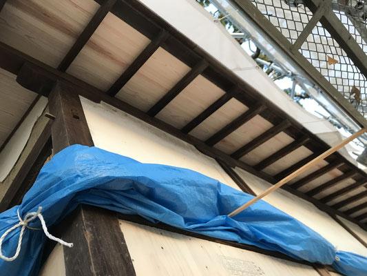 屋根(野地板)