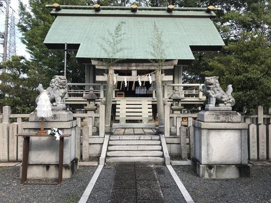 大池神社本殿
