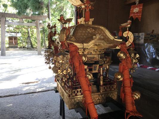 若宮八幡宮子供神輿