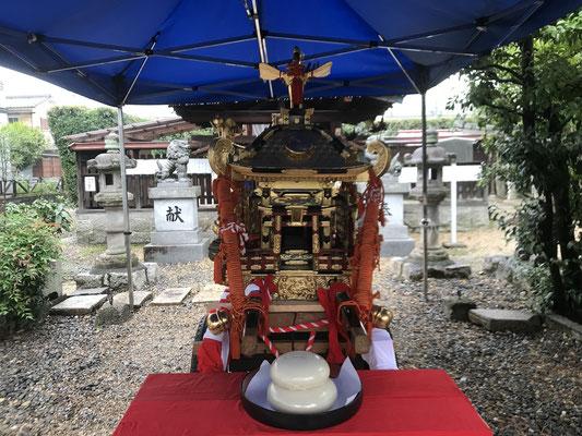 珠城神社子供神輿