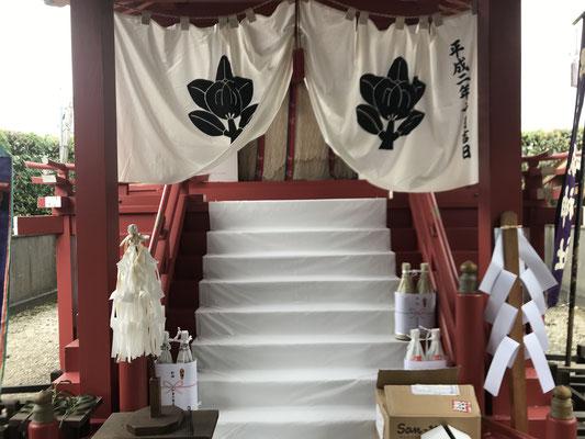 珠城神社本殿