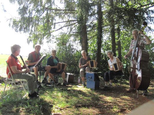 Bubendorf 22.08.17: Probe für Kornschürestubete