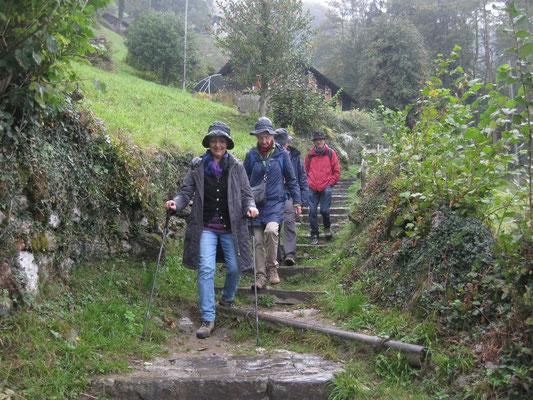 Jahresausflug 2015: Wanderung nach Bauen