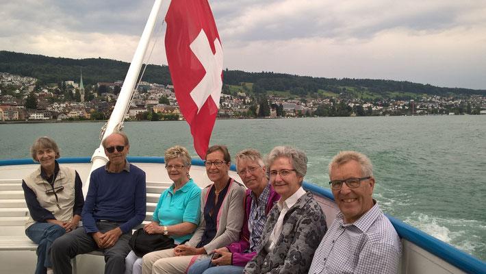 Silberdischtleausflug 2017 mit Schiff nach Rapperswil
