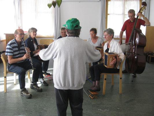 APH Lenzerheide - Oskar dirigiert 04.10.13 (anlässlich Musikwoche auf der Lenzerheide mit Stefan Wehrli).