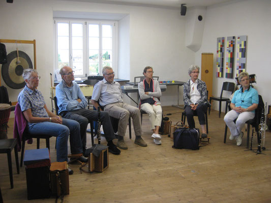 Silberdischtleausflug 2017 Improvisations-Kurs proMusicante in Rapperswil