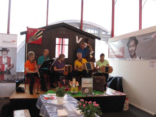 Auftritt MUBA am VSV-Stand, 16.05.17