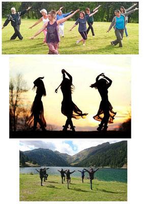 Qi Gong, danse en conscience ou intuitive