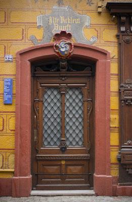 Puerta en Friburgo. Alemania.