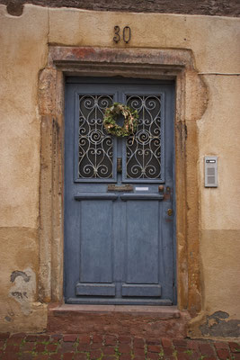 Puerta en Colmar. Francia.