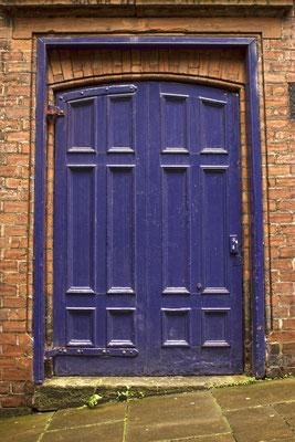 Puerta en Gante. Bélgica