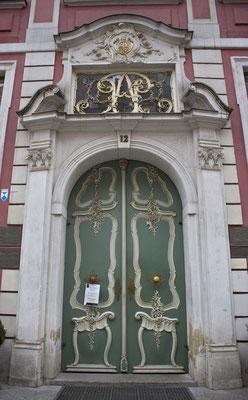Puerta en Varsovia. Polonia.
