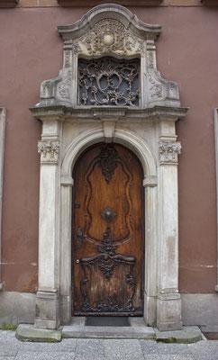 Puerta en Gdansk II. Polonia.