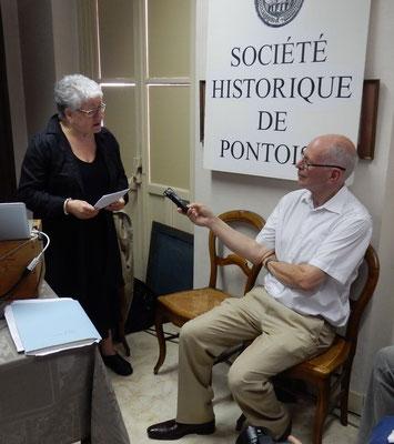 Paule Gecils et Jean-François Dupâquier