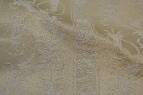 артикул Alice 09; портьерная ткань; тип ткани - жаккард; высота  - 280 см; состав: 60% хлопок, 40% полиэстер