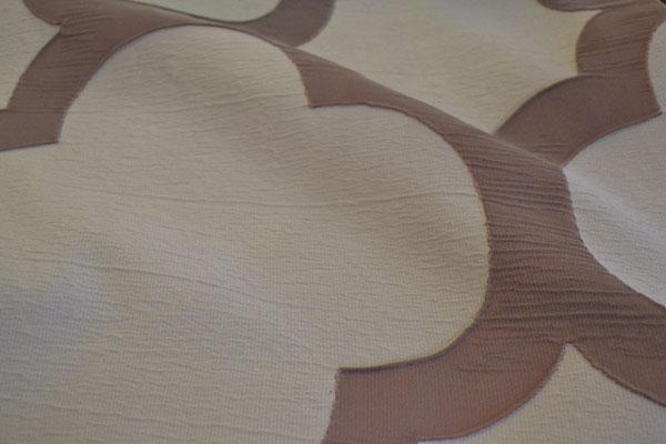 артикул Alicante 40; портьерная ткань; тип ткани - жатая тафта; высота  - 290 см; состав: 100% полиэстер