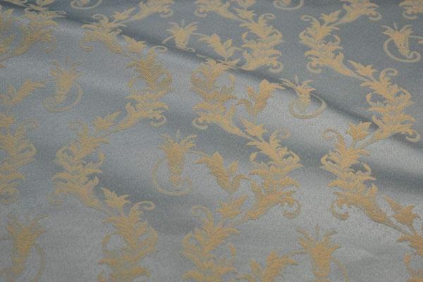 артикул Alice 02; портьерная ткань; тип ткани - жаккард; высота  - 280 см; состав: 60% хлопок, 40% полиэстер