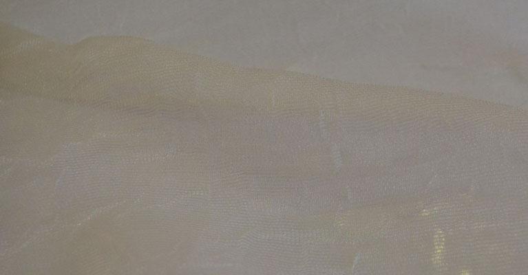артикул Alicante 11; тип ткани - жатая сетка; высота тюля - 290 см с утяжелителем; состав: 100% полиэстер