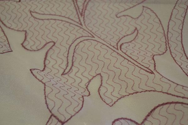 артикул Alicante 37; тип ткани - органза с вышивкой; высота тюля - 300 см с утяжелителем; состав: 100% полиэстер