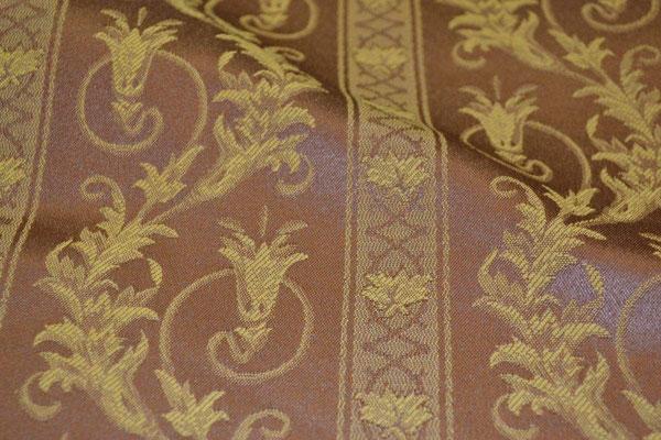 артикул Alice 27; портьерная ткань; тип ткани - жаккард; высота  - 280 см; состав: 60% хлопок, 40% полиэстер