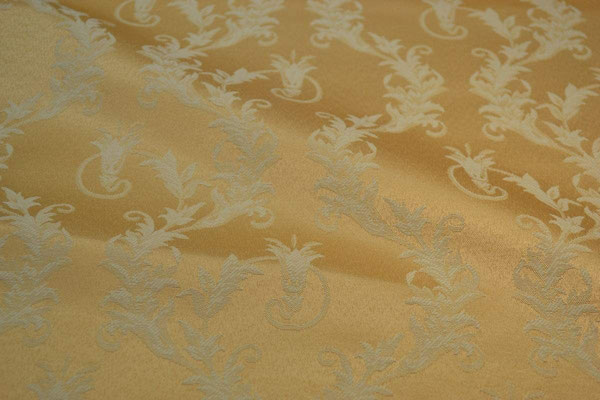 артикул Alice 14; портьерная ткань; тип ткани - жаккард; высота  - 280 см; состав: 60% хлопок, 40% полиэстер