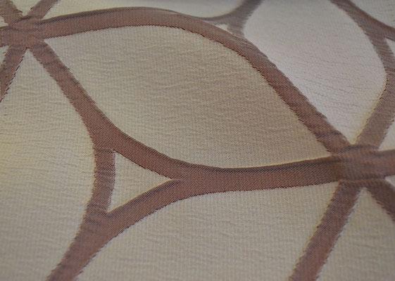 артикул Alicante 34; портьерная ткань; тип ткани - жатая тафта; высота  - 290 см; состав: 100% полиэстер