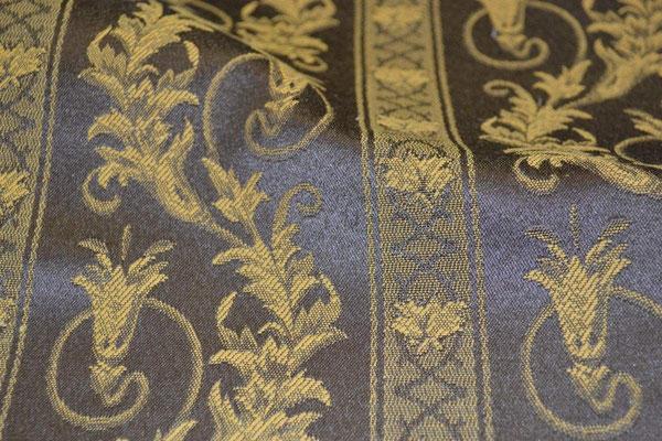 артикул Alice 51; портьерная ткань; тип ткани - жаккард; высота  - 280 см; состав: 60% хлопок, 40% полиэстер