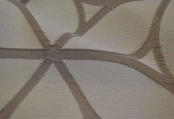 артикул Alicante 42; портьерная ткань; тип ткани - жатая тафта; высота  - 290 см; состав: 100% полиэстер