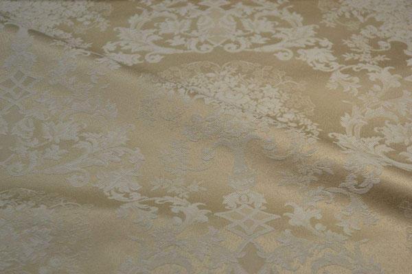 артикул Alice 07; портьерная ткань; тип ткани - жаккард; высота  - 280 см; состав: 60% хлопок, 40% полиэстер