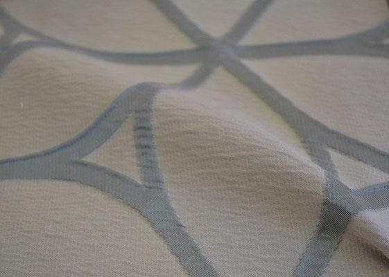 артикул Alicante 02; портьерная ткань; тип ткани - жатая тафта; высота  - 290 см; состав: 100% полиэстер