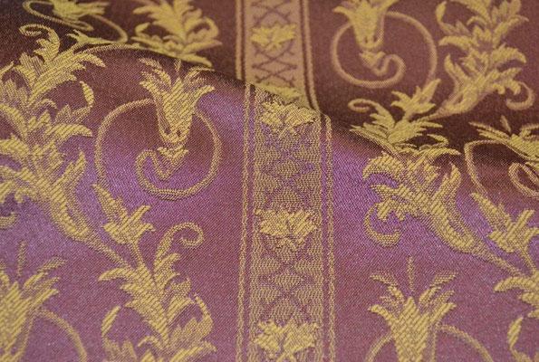 артикул Alice 33; портьерная ткань; тип ткани - жаккард; высота  - 280 см; состав: 60% хлопок, 40% полиэстер