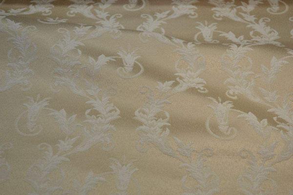 артикул Alice 08; портьерная ткань; тип ткани - жаккард; высота  - 280 см; состав: 60% хлопок, 40% полиэстер