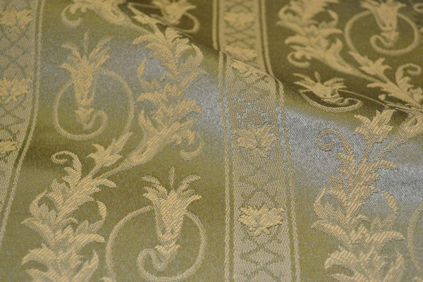 артикул Alice 45; портьерная ткань; тип ткани - жаккард; высота  - 280 см; состав: 60% хлопок, 40% полиэстер