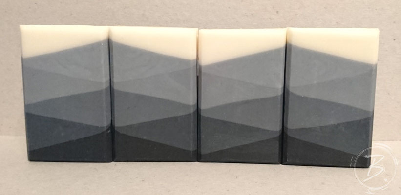 B.nature I Handmade Soap Black Harlekin Riceflower