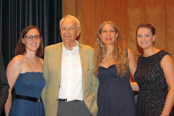 Sommerfest der CSU Stadthalle Aschaffenburg - Sarah Hiller Klavier, E. Stoiber, M. Möckl Gesang, Judith Gerlach MdL