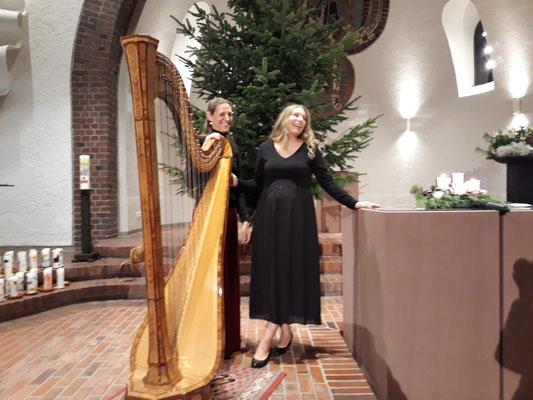 Weihnachtskonzert Harfe & Gesang - Bettina Linck, Harfe