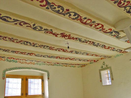 restaurierte barocke Malereien