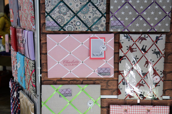Jette hat's gemacht | Textile Pinnwände & Memoboards | Jeanette Brümmer
