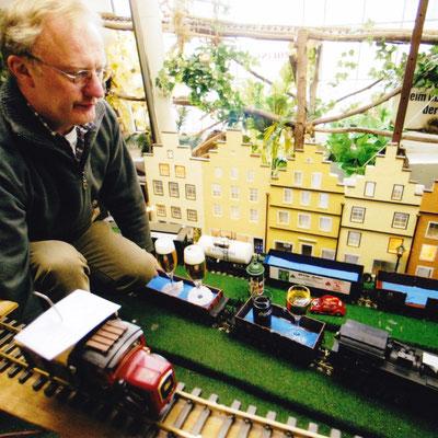 Hermann Dückinghaus und seine Eisenbahn