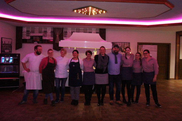Danke an das gesamte Küchen- und Serviceteam!