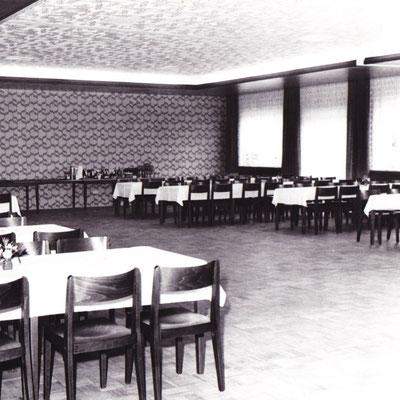 Saal in den 70ern